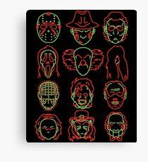 Horror Heads Canvas Print