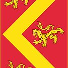 Anglesey Flag Phone Cases by mpodger