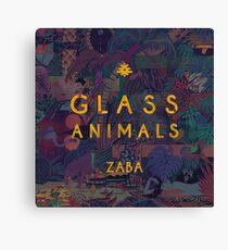 Lienzo animales de vidrio
