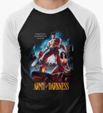 army of darkness Men's Baseball ¾ T-Shirt