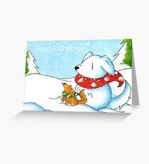 Snowtriever Greeting Card
