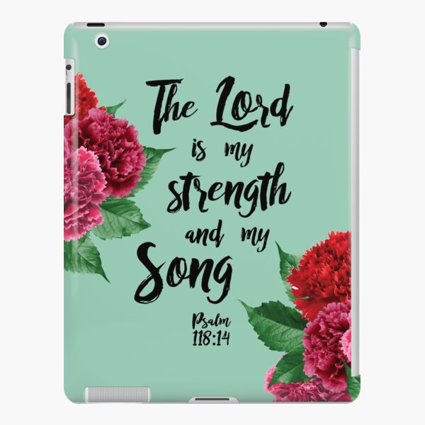 psalm 118:14 iPad Snap Case
