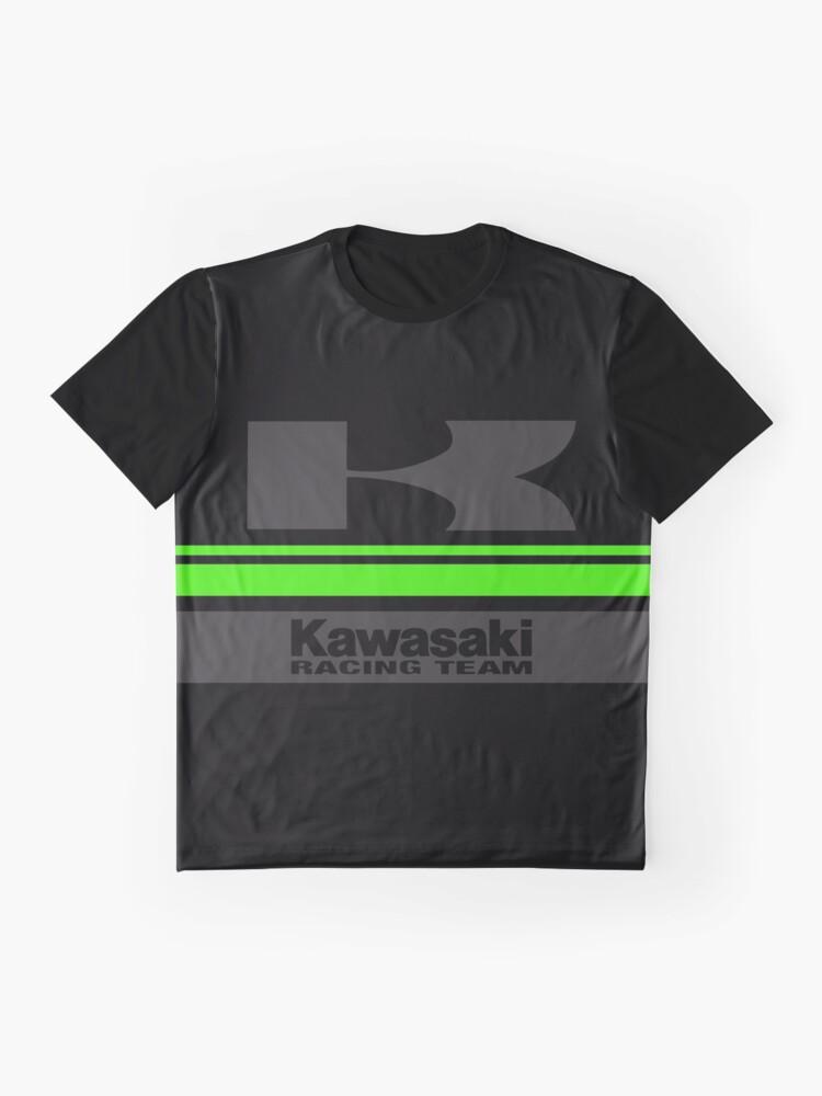 Alternate view of KAWASAKI Team Graphic T-Shirt