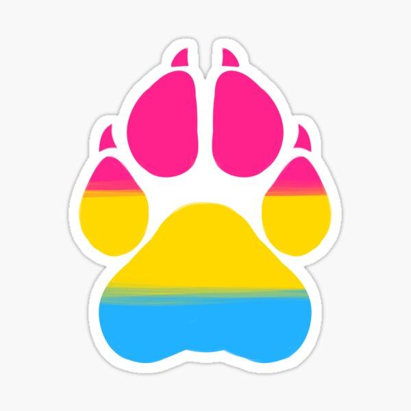 Pawprint - Pan Sticker