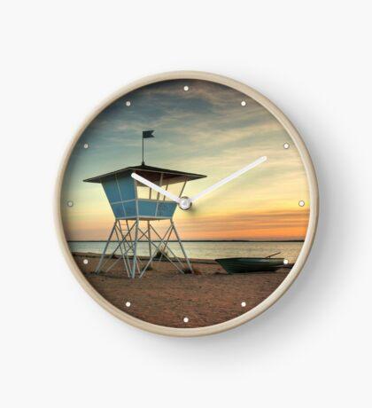 Finnish baywatch Clock