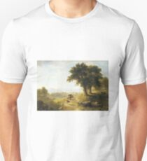 River Scene by Asher Brown Durand T-Shirt