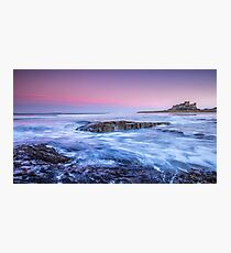 Bamburgh Sunset Photographic Print