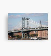 Lienzo The Manhattan Bridge
