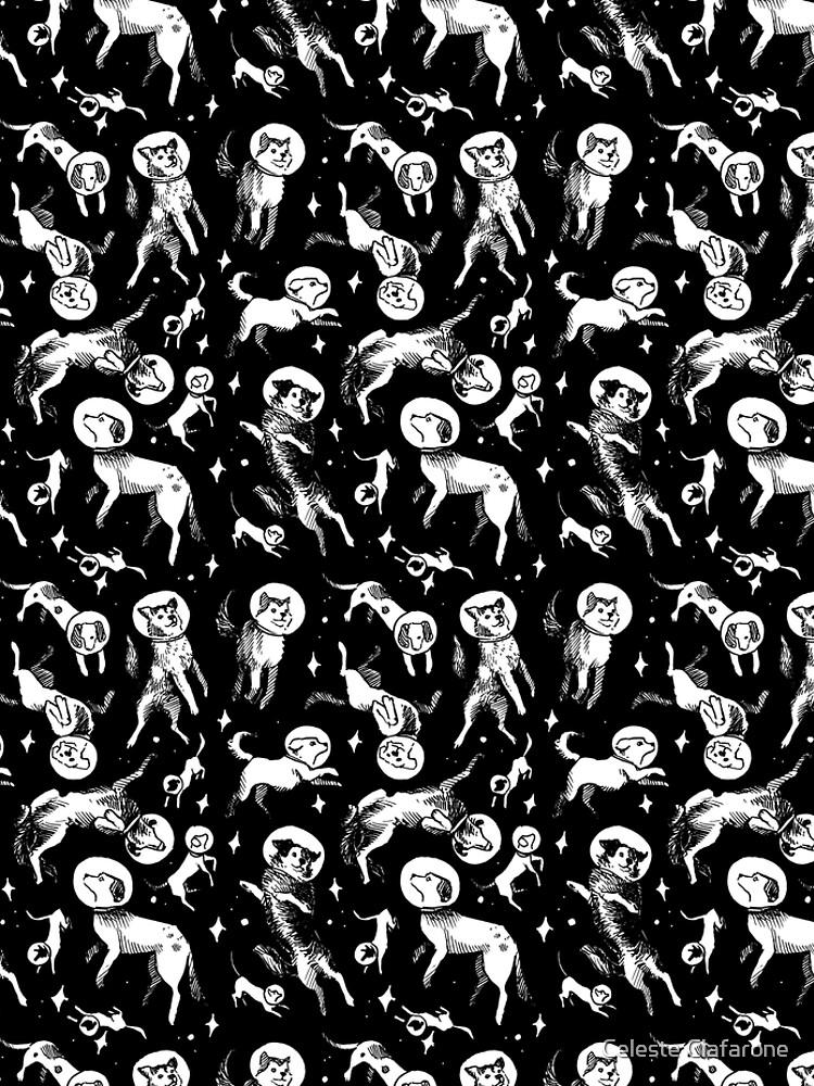 Raum Hunde (schwarzer Hintergrund) von celestecia