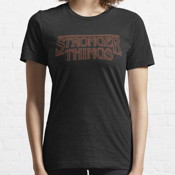 Stronger Things Parody Athletic Fitness Workout Gym T-Shirt Essential T-Shirt