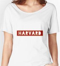 Harvard Women's Relaxed Fit T-Shirt