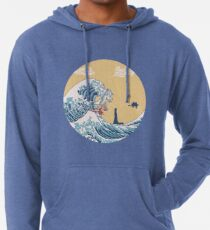 Sudadera con capucha ligera El gran mar