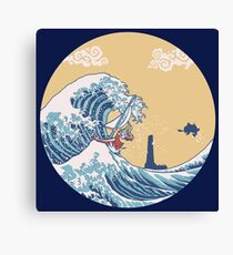 The Great Sea Canvas Print