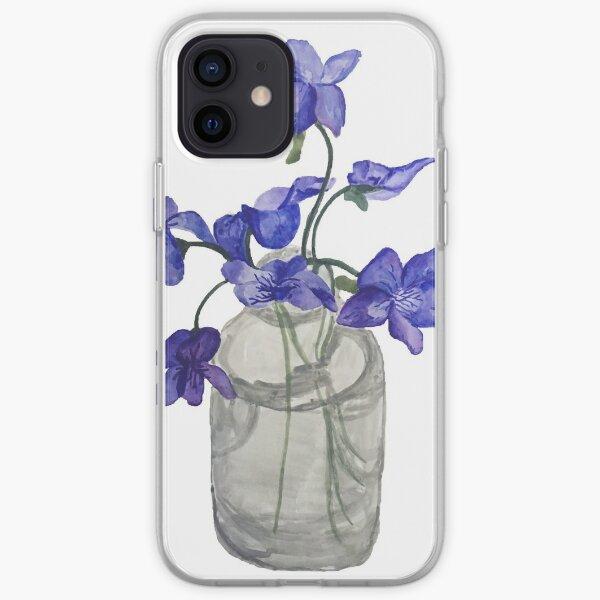 Jar of Violets iPhone Soft Case
