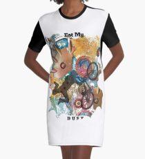 EAT MY DUST - DIRT BIKING Graphic T-Shirt Dress