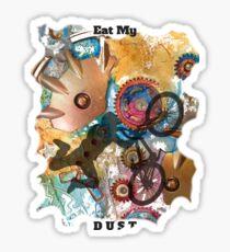 EAT MY DUST - DIRT BIKING Sticker