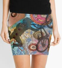 EAT MY DUST - DIRT BIKING Mini Skirt