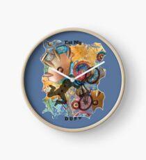 EAT MY DUST - DIRT BIKING Clock