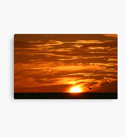 Clouds of Gold Canvas Print