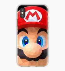 Low Polygon Mario iPhone Case