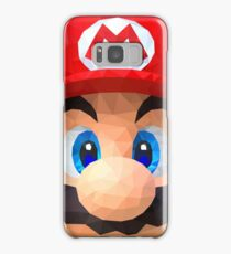 Low Polygon Mario Samsung Galaxy Case/Skin