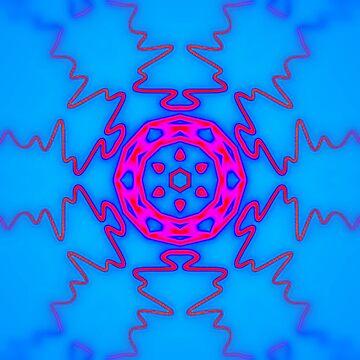 Kaleidoscope Waveform [Music Art] by StabbedPanda