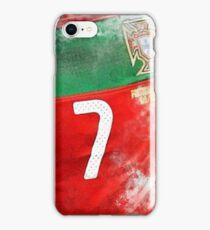 Jersey #7 iPhone Case/Skin