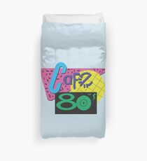 Cafe 80s Back to the Future Duvet Cover