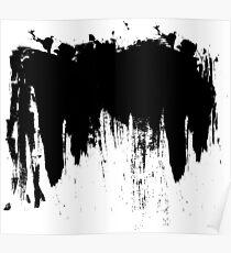 Splash paint Poster