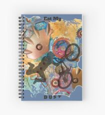 EAT MY DUST - DIRT BIKING Spiral Notebook