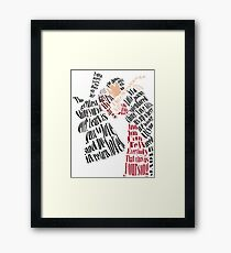 Moulin Rouge in Song Framed Print