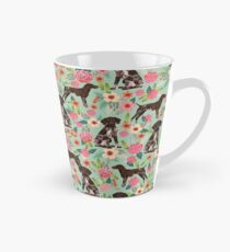 German Shorthair Pointer floral dog pattern gifts for dog lovers Tall Mug