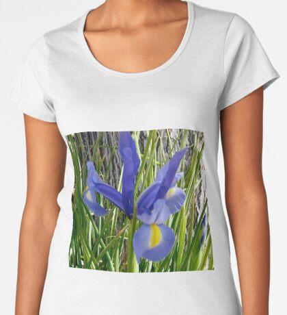 Japanese Iris Women's Premium T-Shirt