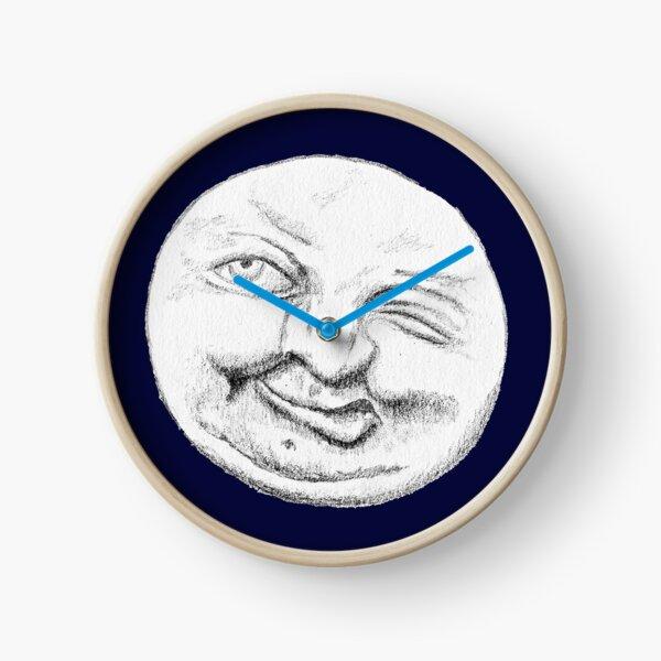Man in the Moon Clock
