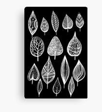 leaves of trees decor decoration  Canvas Print