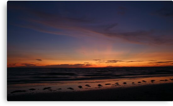 Gulf Sunset by MMerritt