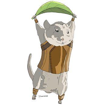 AnimalQuest Leaf Mouse Adventurer by jtownsend