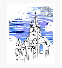 Medieval church Photographic Print