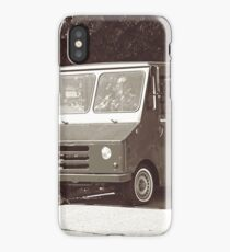 Psychic Ice Cream Truck, Los Angeles, Sepia iPhone Case/Skin
