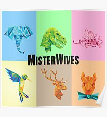 Misterwives Color Block Merch! Poster
