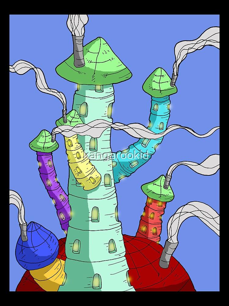 towers... by kangarookid
