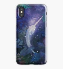 Narwhal by Night iPhone Case