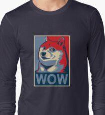 Wow! Long Sleeve T-Shirt