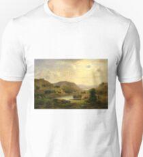 Valley Pasture by Robert Seldon Duncanson Unisex T-Shirt