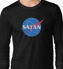 SATAN NASA Long Sleeve T-Shirt