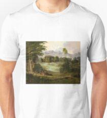 Chapultpec Castle by Robert Seldon Duncanson Unisex T-Shirt