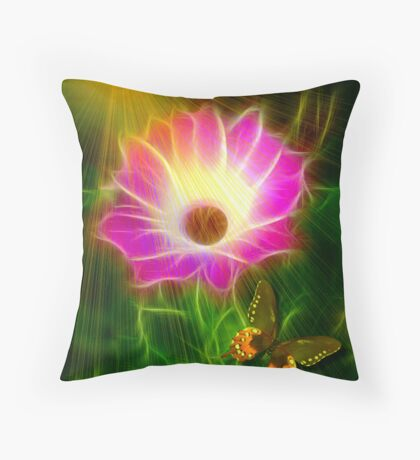 GARDEN SPIRIT Throw Pillow