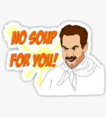 Soup Nazi Sticker