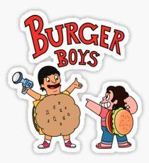 Burgers Boys Sticker