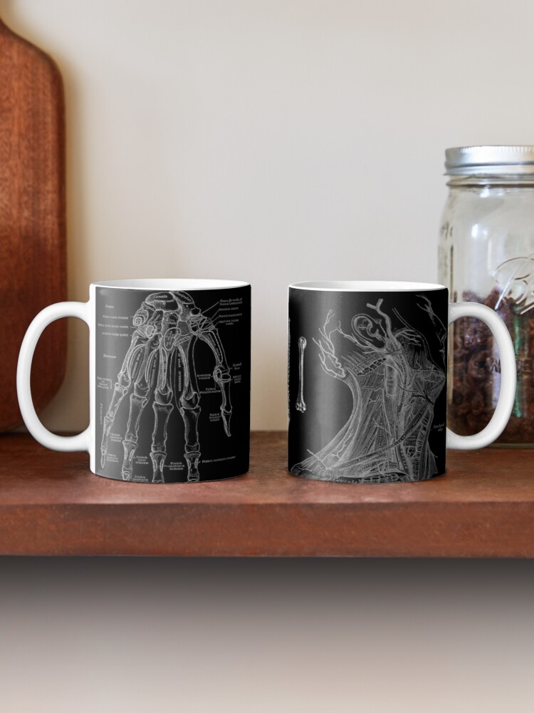 Alternate view of Vintage Anatomy Print  Mug